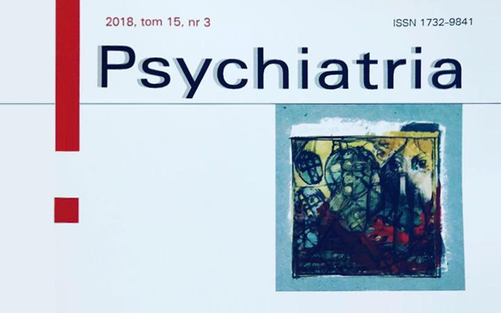 Fragment okładki magazynu Psychiatria