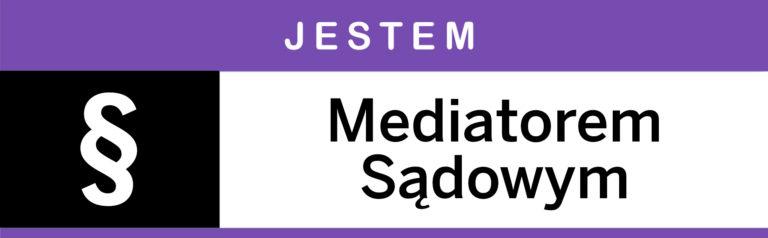 jestem mediatorem sądowym, logo