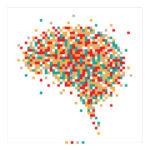 Grafika, mozaika, mózg