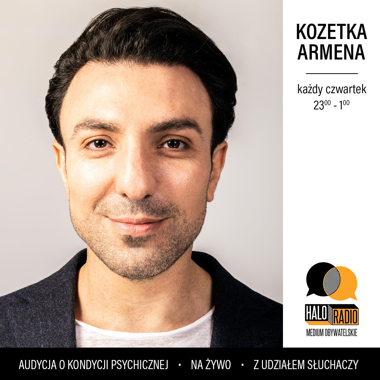 Armen Mekhakyan, Filmoterapia, Kinoterapia, ogłoszenie, Kozetka Armena w halo.radio
